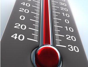 Erro ao Expressar Valores de Temperatura