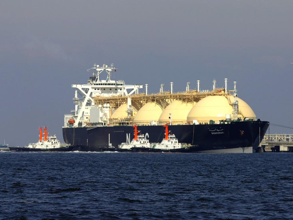 Navio de Gás Natural Liquefeito