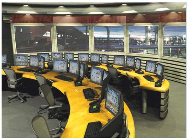 Sala de Controle com SDCD
