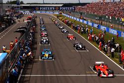 Largada de Fórmula 1
