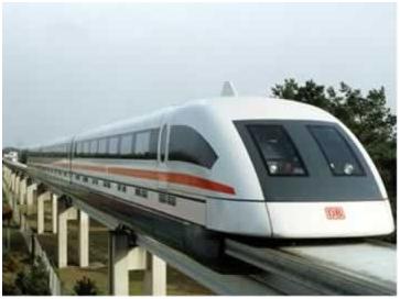 Trem de Levitação Magnética (MAGLEV)