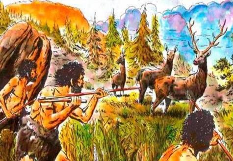 Caça no Período Neolítico