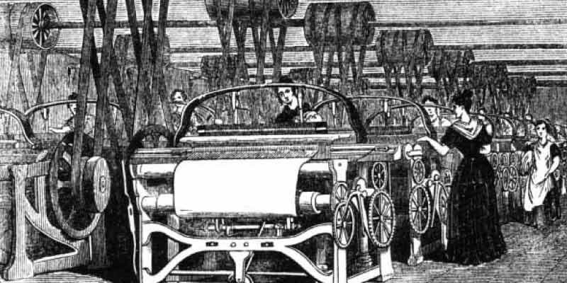 Linha de Produção - Primeira Revolução Industrial