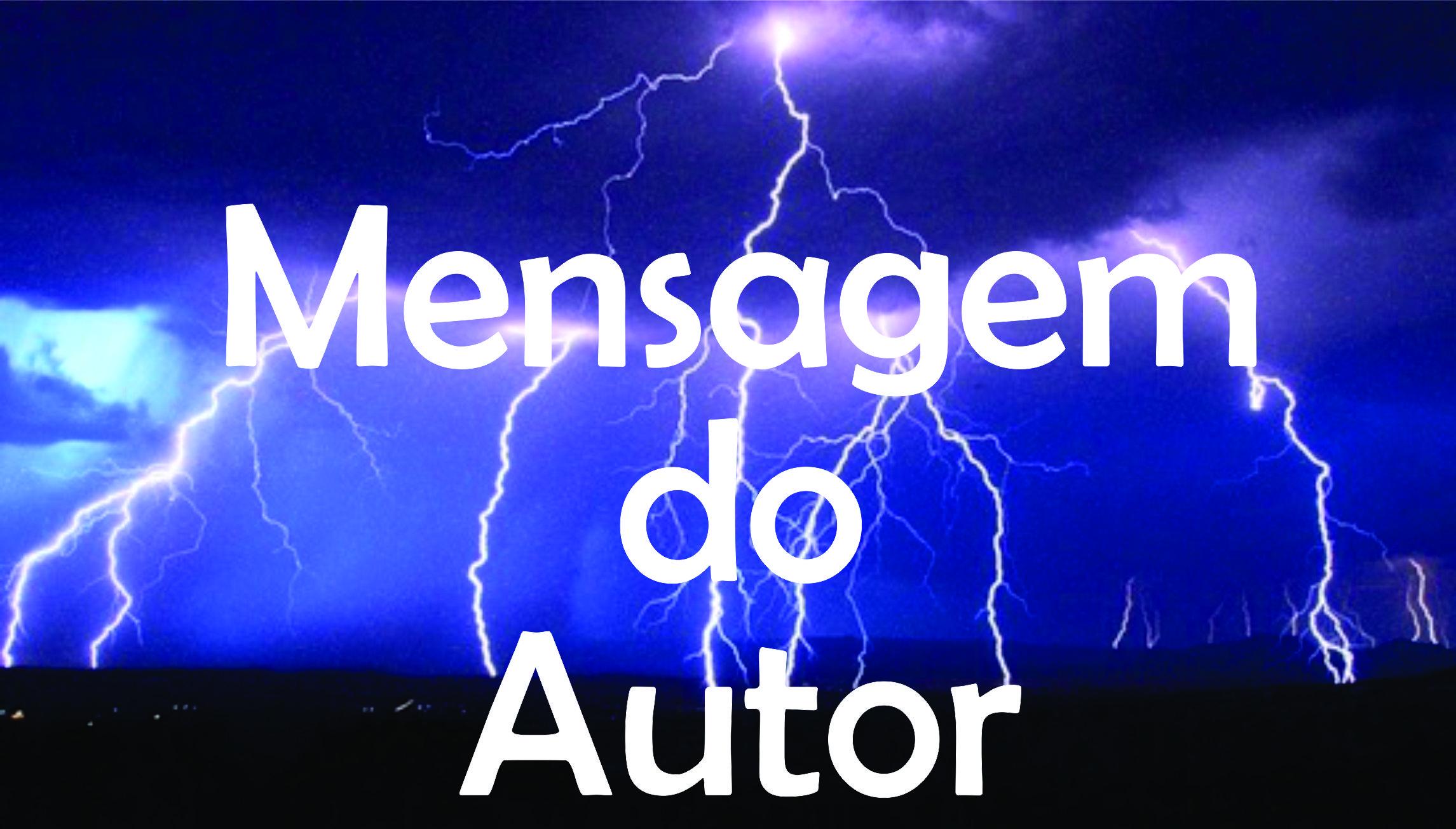 Mensagem do Autor